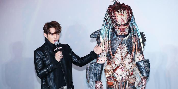 汪东城自称《铁血战士》铁粉 调侃其造型很嘻哈