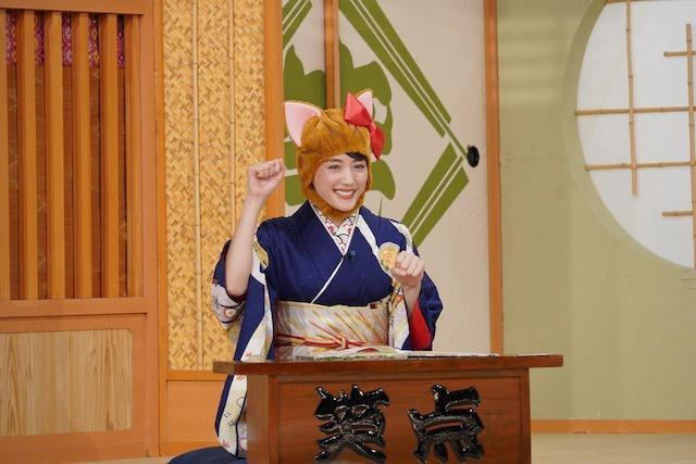 绫濑遥连续四年出演《笑点》SP 首次挑战落语