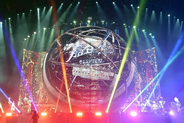 周杰伦演唱会打造科技舞台 与歌迷相约下一个20年
