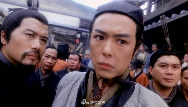 1993年,张铁林出演《新仙鹤神针》,与梁朝伟,梅艳芳,关之琳搭档