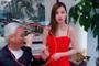 组图:林瑞阳与美女员工录视频 摸手搂腰亲密互动女方一脸紧张