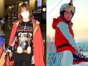 李彩桦结束日本滑雪行程返港 透露老公仍在北京