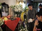 组图:单田芳追思会在家中举行 姜昆冯巩送挽联王迅到场吊唁