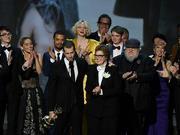 组图:第70届美国电视艾美奖颁奖 《权力的游戏》摘最佳剧集奖
