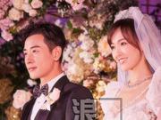 组图:唐嫣罗晋婚礼现场如花海般梦幻 新娘露背婚纱暗藏设计