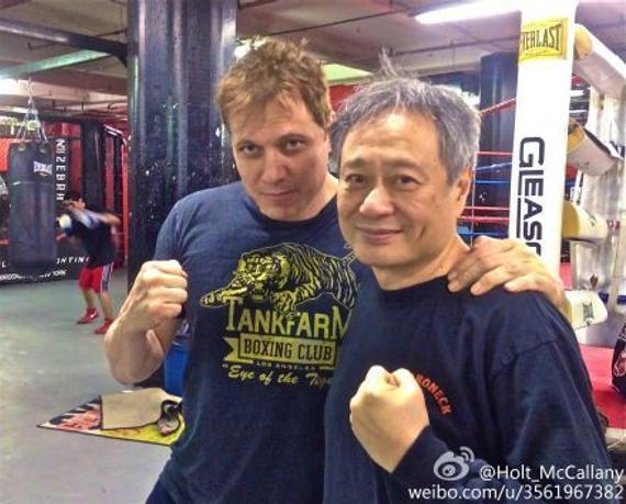 李安为拍摄该片曾经自己去拳馆体验