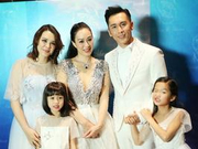 钟丽缇张伦硕仪式前合体专访 3女儿齐出镜