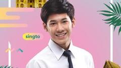 《一年生》小鲜肉Singto空降泰国爱豆月 黑框萌翻