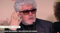 戛纳颁奖礼:最开心评委发布会 只有阿莫多瓦哭了