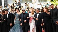 小浪再走戛纳闭幕红毯 遇到了得奖的中国剧组