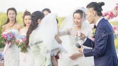 张玮杨烨完婚真情告白下跪催泪 1岁女儿首曝光.图