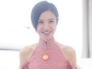 组图:杨子姗出嫁吴中天低调迎亲 粉色中式礼服俏美十足
