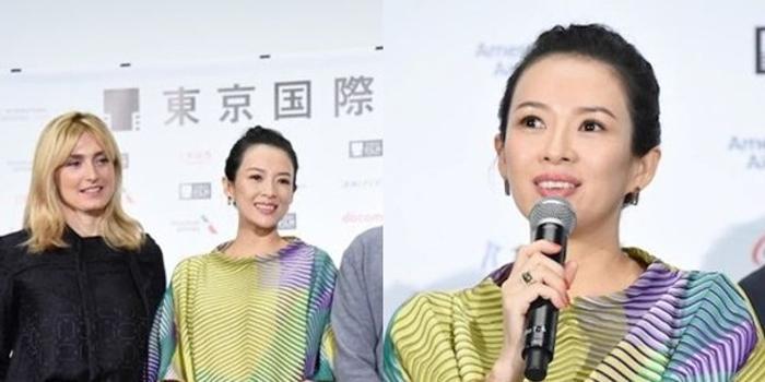 章子怡宣布懷孕后現身東影節 承諾公平審中國電影