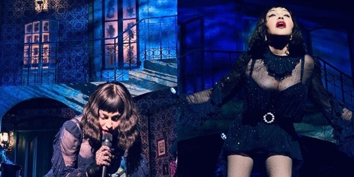 麥當娜演唱會再出事 在臺上跌倒忍痛仍艱難表演