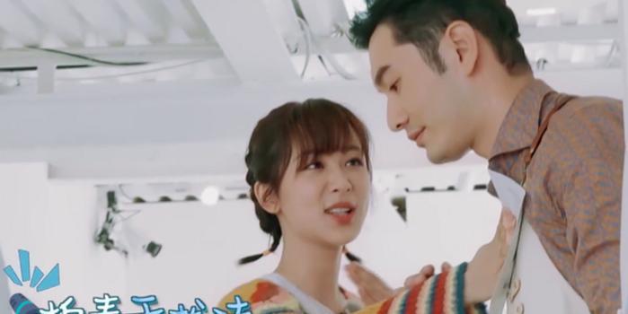 杨紫节目中自曝体重 黄晓明暖心安慰:衣服有6斤