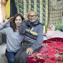 謝盈萱探望88歲獨居老人 做公益引爆淚水