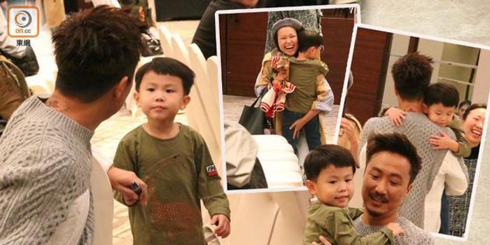 郑中基搞哭儿子抱起安慰 演唱会女儿将整首唱歌