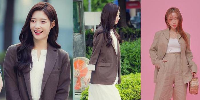 韩情脉脉:看韩国明星春季穿搭 清纯性感两种风格