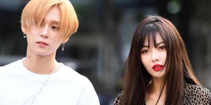 金泫雅与男友金晓钟被公司开除 CUBE宣布二人退社