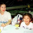福原愛曬24年前後與媽媽合照對比 母女倆越長越像