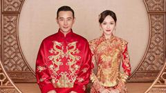 唐嫣罗晋甜蜜宣布结婚:新郎是我新娘是我