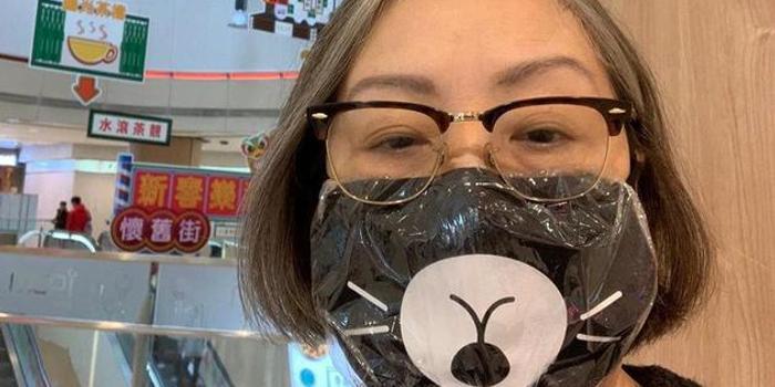 开工却没口罩 TVB老戏骨卢宛茵布口罩夹厕纸暂用