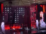 谢娜回应张杰受伤 透露跳跳悄悄也去看了演唱会