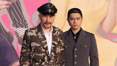 徐锦江带儿子出席金像奖:有兴趣入行 带来见识