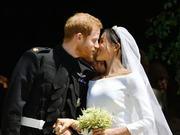 哈里王子温莎城堡完婚 全民欢呼场面火爆