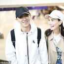網友偶遇韓庚盧靖姍買菜 戴黑白情侶帽甜度滿分