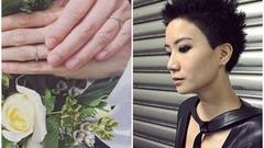 卢凯彤告别式举行众人悼念 与余静萍婚纱照曝光