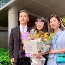 最好畢業禮!賈靜雯出席女兒畢業典禮與前夫同框