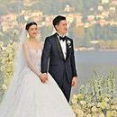 婚禮上樑錦鬆致詞祝賀 文詠珊意大利古堡出嫁