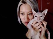 金希澈承认领养雪莉的猫 谈韩庚婚讯:提前有听说