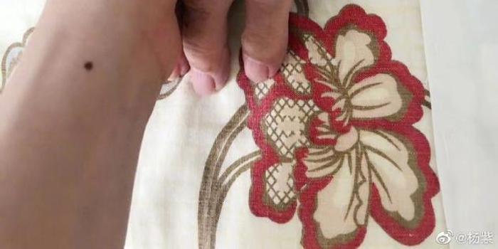 杨紫晒与奶奶牵手照为其祈福:要好好的等我哦