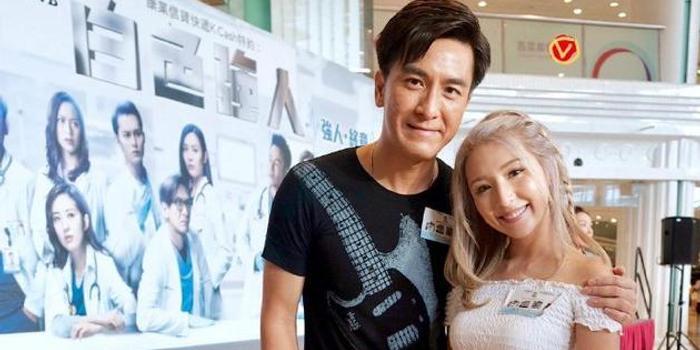 马国明晒与谭嘉仪合影 疑似合作新歌曲引网友期待