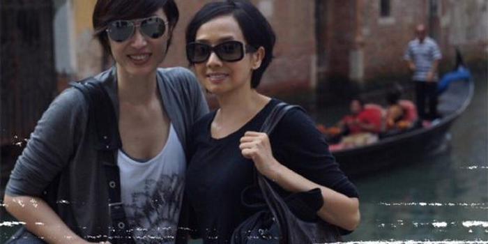 陈法蓉为好友毛舜筠庆生 晒八年前同游旧照似姐妹