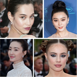 丸子头被断定为戛纳百分之九十的女星最爱发型