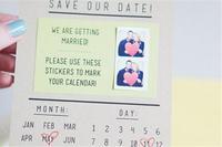 19個超有創意的請柬DIY 有效減少婚禮預算