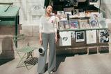 周迅助阵Chanel高定大秀 条纹长裤尽显完美比例
