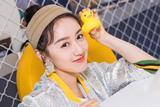 袁冰妍出席活动 化身氧气少女尽显阳光气质