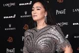 第55届金马奖红毯:巩俐金色礼服举手投足尽显大气
