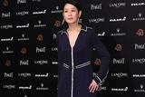 第55届金马奖红毯:刘若英低胸海军风礼服性感优雅