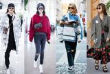 衣服越穿越厚包包就要变短 挎在胸前才是时髦人