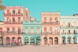 走进古巴哈瓦那的五彩缤纷的街道