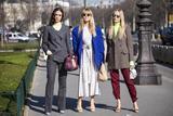 巴黎时装周街拍盘点 来自时装精的必败指南