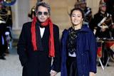 法国总统马克龙爱丽舍宫设宴 巩俐优雅大气携男友出席