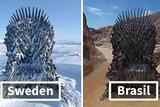 《权力的游戏》在世界各地藏了6个铁王座 还剩2个没被找到