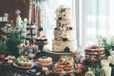 """将情书""""写""""进婚礼蛋糕,是我这辈子见到过的最美味的情话"""