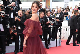超模伊莎贝儿-歌勒亮相红毯 一字肩纱裙高贵优雅